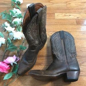 Dan Post Genuine Leather Women's Western Boots